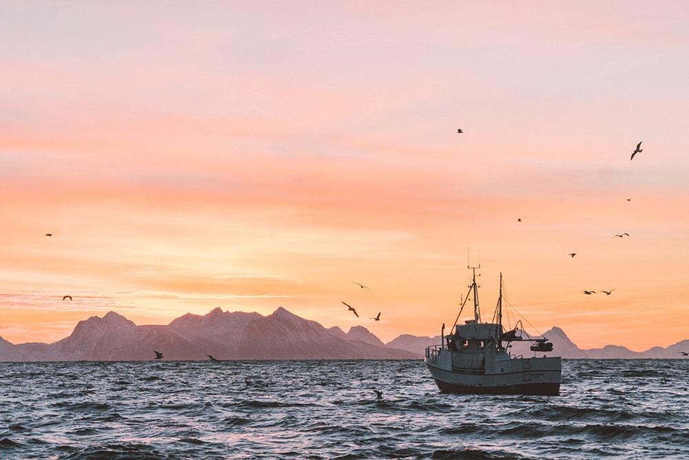 Norvège Lever de soleil