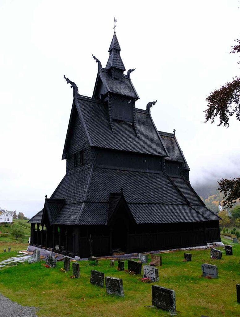 Eglise Hopperstad Norvège