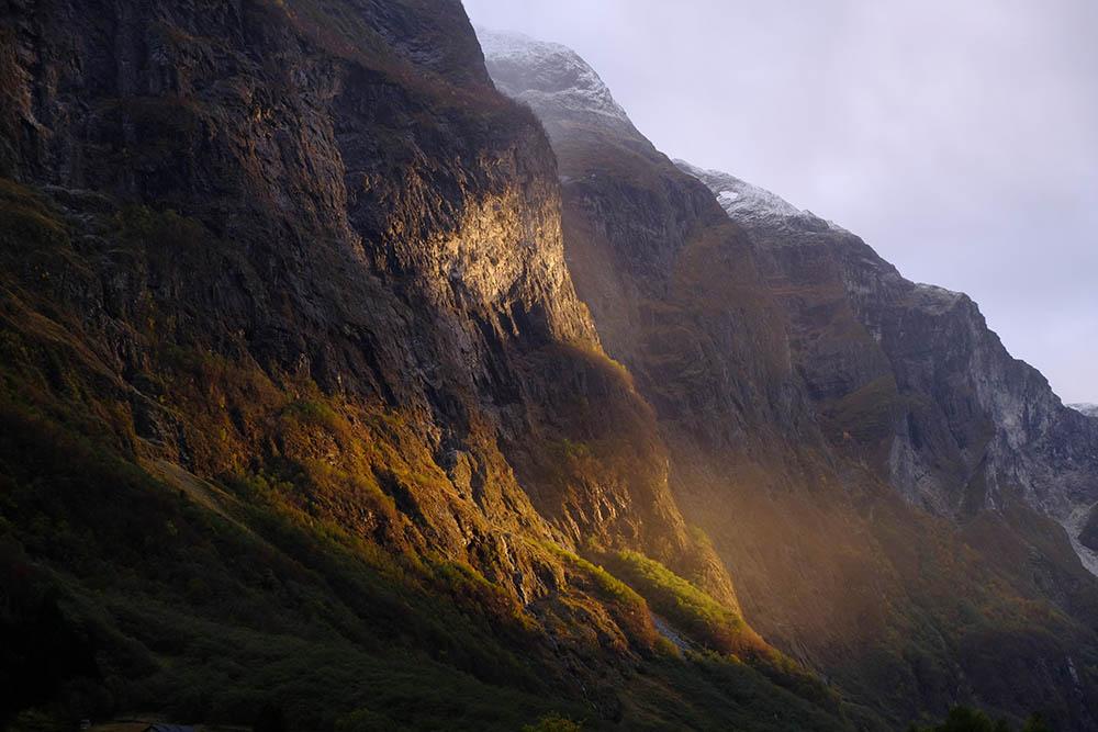 Fjord Norvège Naerofjord