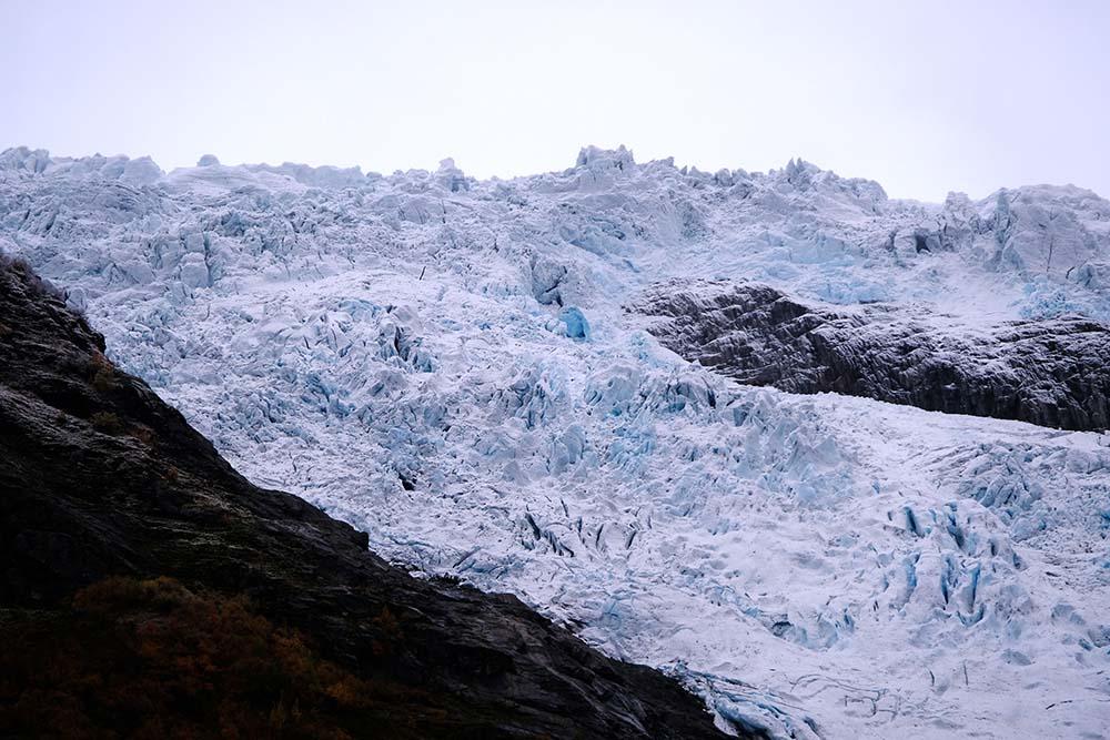 Glacier de Boyabreen Norvège