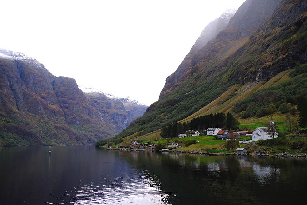 NORVÈGE Naerofjord