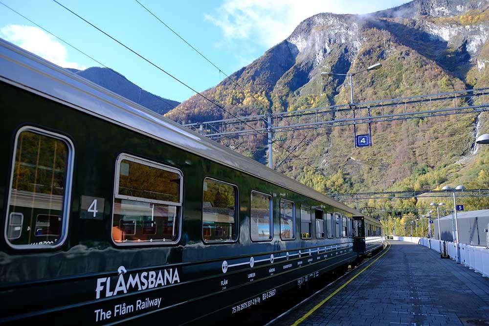 Train Flåmsbana Norvège